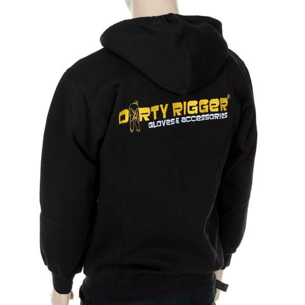 Худи на молнии Dirty Rigger Embroidered Hoodie
